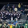 The Ayer Shirley band plays during Friday night's loss at Clinton. Nashoba Valley Voice/Ed Niser