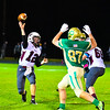 Ayer Shirley quarterback Steven Lawton fires a pass during Friday night's loss to Clinton. Nashoba Valley Voice/Ed Niser
