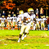 Shepherd Hill''s Kevin Mensah looks for running room during Friday night's game at Groton-Dunstable. Nashoba Valley Voice/Ed Niser