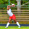 North Middlesex's Martina Nkwantah throws the ball in during Monday's win against Hudson. Nashoba Valley Voice/Ed Niser