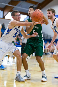 High School Basketball, Central Dauphin vs. Lampeter-Strasburg in the championship game of the  Lower Dauphin Tip-off Tournament, December 8, 2018.