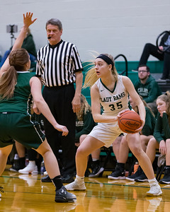 Carlisle at Central Dauphin in Girls Mid-Penn Commonwealth League action, December 14, 2018.