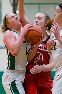 Cumberland Valley at Central Dauphin in Girls Mid-Penn Commonwealth League action, January 2, 2019.