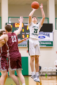 Boys High School Basketball | State College at Central Dauphin in Mid-Penn Commonwealth action, January 11, 2019.