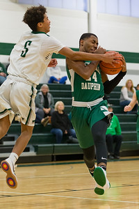 Central Dauphin 9th grade basketball team vs. Carlisle, at Carlisle High School, December 13, 2018.
