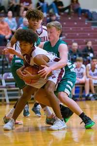 Central Dauphin 9th grade basketball team vs. Altoona, at Altoona Junior High School, December 17, 2018.