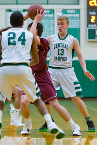 Freshmen Basketball | Central Dauphin vs. State College | January 11, 2019.