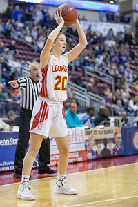 PIAA 1A Girls State Finals | Lourdes Regional vs. Berlin | Giant Center in Hershey, PA | March 22, 2019