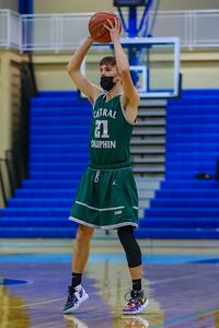 Boys JV Basketball | Central Dauphin @ Chambersburg | January 12, 2021