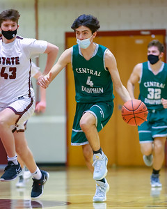 JV Boys Basketball | Central Dauphin @ State College | January 29, 2021