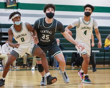 HS Basketball | Central Dauphin @ Carlisle | February 2, 2021