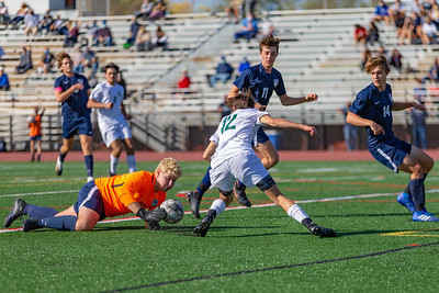 Boys HS Soccer | Central Dauphin @ Manheim Township | October 3, 2020