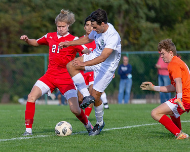 Boys HS Soccer | Central Dauphin @ Red Land | October 8, 2020