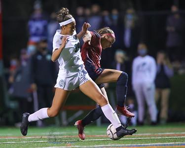 Girls HS Soccer   Central Dauphin @ Cumberland Valley (District 3 Finals)   November 10, 2020