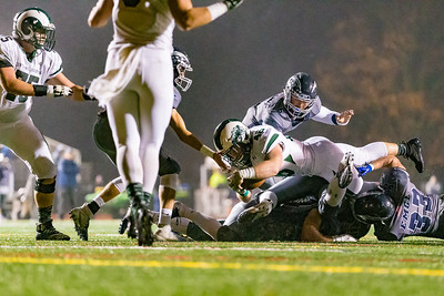 Central Dauphin @ Manheim Township in second round of 6A District 3 football playoffs | November 9, 2018