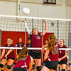 Groton-Dunstable defeated Ayer Shirley in straight-sets Tuesday afternoon in Ayer. Nashoba Valley Voice/Ed Niser