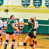 North MIddlesex and Nashoba battled through five sets. The Chieftains went on to win the match, 3-2. Nashoba Valley Voice / Ed Niser