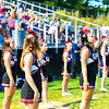G-D cheerleaders look over the field during Saturday's loss. Nashoba Valley Voice/Ed NIser