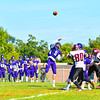 St. Peter Marian quarterback Danny Malm throws a pass during Saturday's game. Nashoba Valley Voice/Ed Niser
