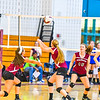 Groton-Dunstable defeated Leominster in volleyball action. Nashoba Valley Voice/Ed Niser
