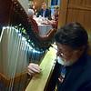 "Valentine Day Dinner on February 14, 2014.  Harpist is Mike of ""Celtic Harvest"" Irish, Scottish & Folk Music out of Dover dE. 302-531-5312"