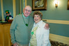 Jerry and Gail LaForge, residents, having fun during St. Patrick's Day promotion for new home buyers.
