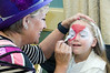Easter Sunday Brunch -- with many children able to have their face painted and see the Easter Bunny.