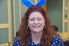 Easter Sunday Brunch -- with many children able to have their face painted and see the Easter Bunny.  Debbie on staff at Heritage Shores Club gets into the fun of things.