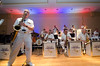 US Navy Band Commodores. Senior Chief Musician Luis Hernandez on saxophone.