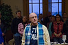 Hunukkah ceremony December 2016.  Sandy Boyer