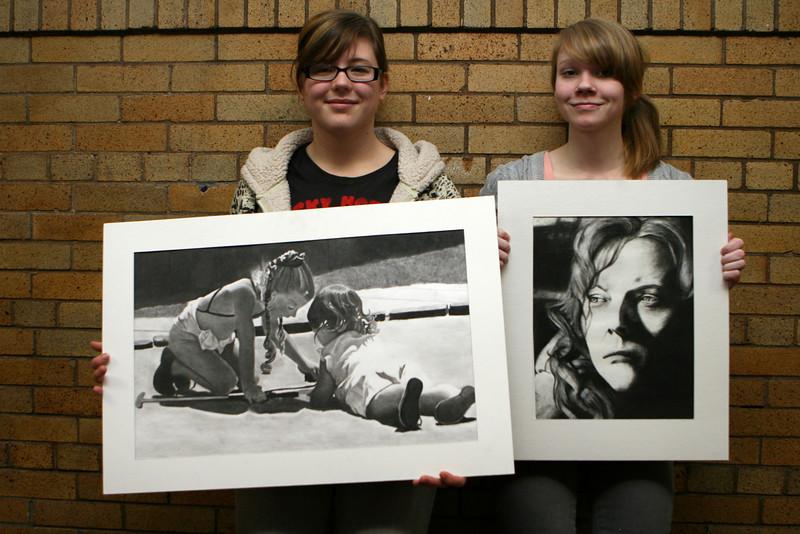 Advanced Drawing Painting Class - Award Recipients