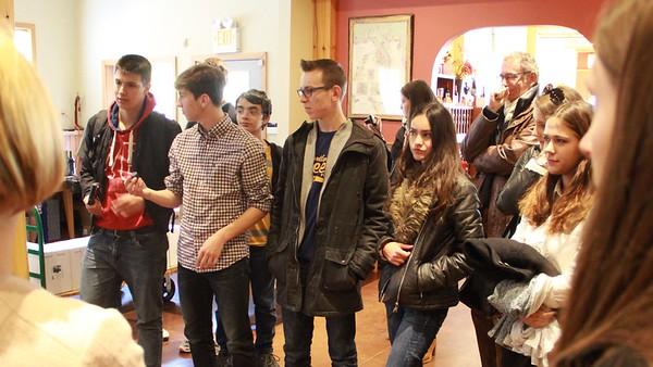 20151023  French Students at Zorvino Vineyards