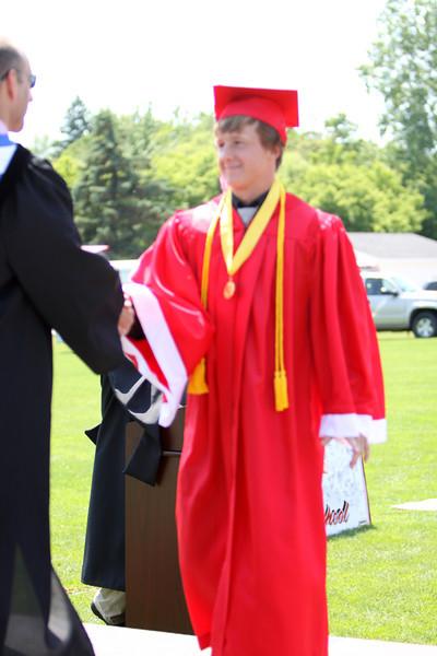 6/3/2012 - High School Graduation (Receiving Diplomas)