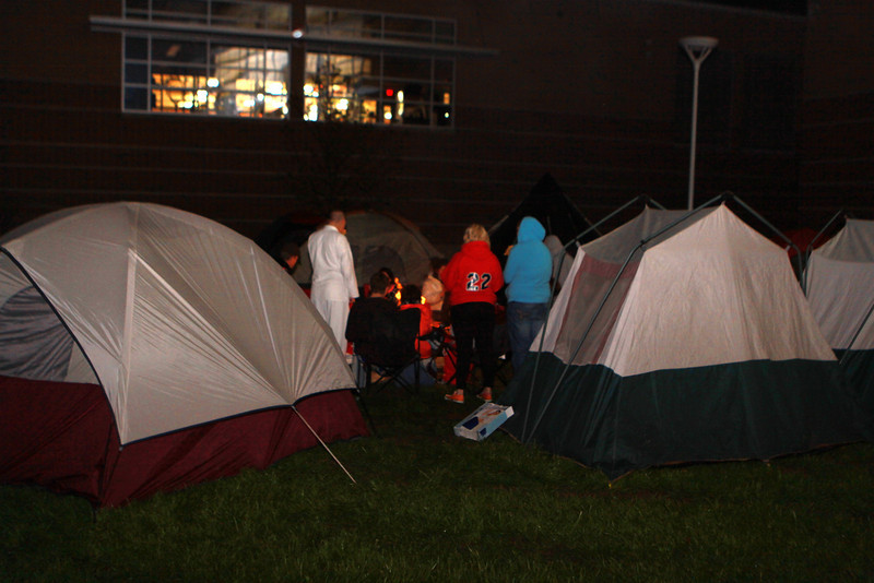10/11/2012 - 1st Annual Senior Camp Out