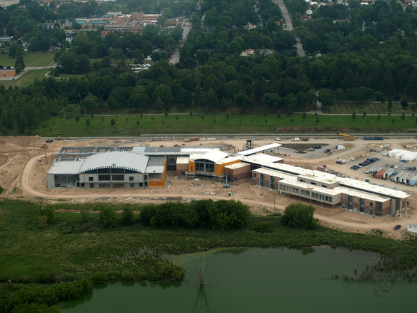 8/4/2011 - New High School from the Air (Photography by Scott Sherman)
