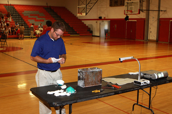 6/11/2012 -  High School Time Capsule Opening