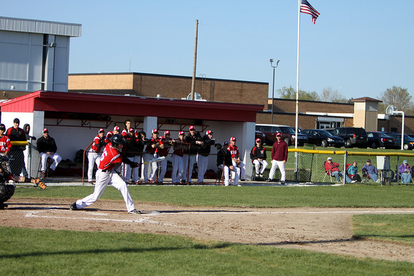 Boys Varsity Baseball - 4/17/2012 Spring Lake