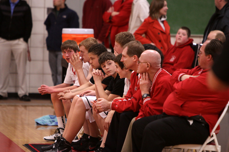 Boys JV Basketball - 3/1/2011 Whitehall