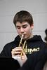 High School Band - 2/22/2013 Boys Varsity Basketball Grant