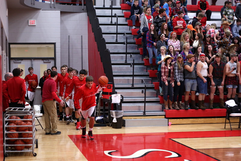 Boys Varsity Basketball - 1/16/2015 Spring Lake