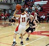Boys JV Basketball - 2/10/2015 Newaygo (Photographer: Russ Tindall)