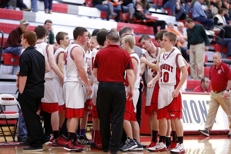 Boys Freshman Basketball - 12/30/2014 Grant