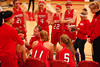 Girls Varsity Basketball - 3/1/2010 Districts Newaygo (Julie Gardenour)