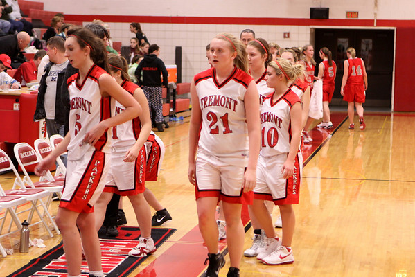 Girls JV Basketball - 1/13/2011 Spring Lake