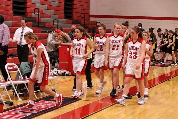 Girls JV Basketball - 12/9/2010 Tri-County