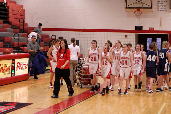 Girls Freshman Basketball - 1/26/2012 Fruitport