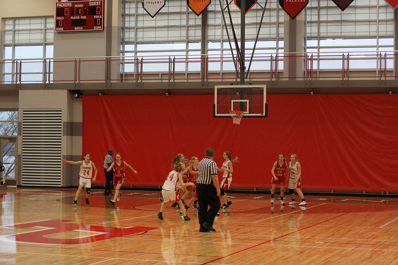 Girls Freshman Basketball - 11/30/2012 Spring Lake