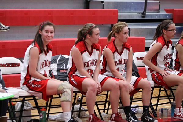 Girls JV Basketball - 2/18/2014 Manistee
