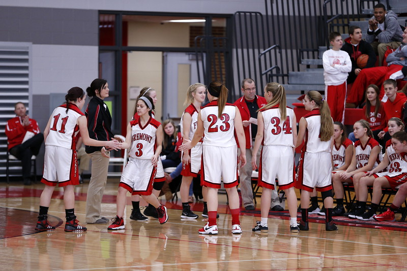 Girls JV Basketball - 12/30/2014 Grant