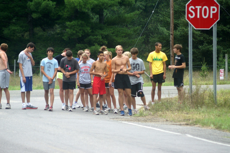 Coed Cross Country - 8/14/2011 - 8/20/2011 Team Camp (Photography by Dean Wheater)